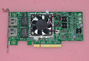 Supermicro AOC-STG-i2T 10GbE RJ45 10GBASE-T Ethernet Adapter  Intel X540-T2
