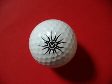 Pelota de golf con logo-rayos/Sol-golf logotipo Ball como regalo talismán...