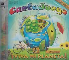 CD - Canta Juego NEW Viva Mi Planeta ! 1 CD & 1 DVD FAST SHIPPING !