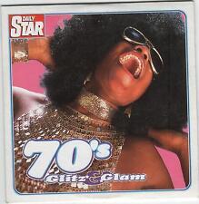 70s GLITZ & GLAM - PROMO CD: WIZZARD, ELO, MUD, SUZI QUATRO, BAY CITY ROLLERS