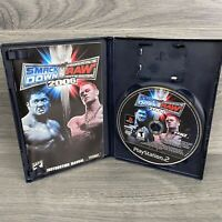 Wwe Smackdown Vs. Raw 2007 ORIGINAL (Sony Playstation 2 ps2) Complete