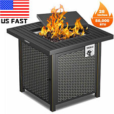 Big Bbq Propane Fire PitS Table Outdoor Garden Yard Cooking Party Camping use