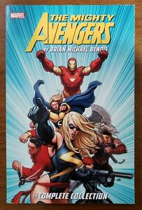 Mighty Avengers Brian Michael Bendis Complete Collection Marvel TPB GN OOP NEW