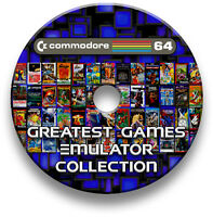 COMMODORE 64 10,000+ GAMES EMULATOR COLLECTION - WINDOWS, MAC, LINUX, ANDROID