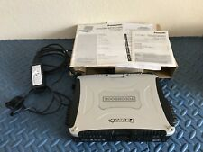 50hr Panasonic ToughBook CF-19 Intel Core 2 Duo U9300 @1.20GHz 4GB ram 160GB