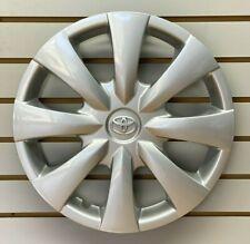 """2009-2013 TOYOTA COROLLA 15"""" 8-spoke Silver Hubcap Wheelcover Factory Original"""