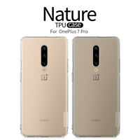 Nillkin Nature TPU, Clear Silicone Soft Case Cover For OnePlus 7T Pro
