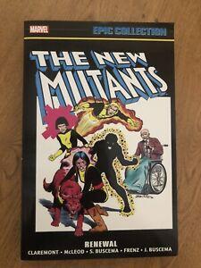 New Mutants Epic Collection TPB vol. 1 Renewal Marvel Comics