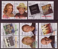 AUSTRALIA 2013 SPECIAL OFFER AUSTRALIAN LEGENDS POP SINGERS SET OF 10 CTO