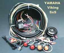 Yamaha Viking Turn Signal Horn Kit - Sealed Loomed Wiring Harness LED Light