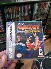 Disney's MAGICAL QUEST Mickey & Minnie (Game Boy Advance) COMPLETE IN BOX!! GBA