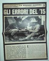 GLI ERRORI DEL 1915*LA GRANDE GUERRA* DOMENICA DEL CORRIERE DI FRANCO BANDINI