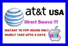 Factory unlock iphone AT&T ( ATT ) USA 3 4 4s 5 5s 5c 6 6+ lumia, lg samsung htc
