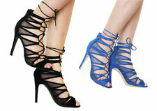 High Heel (3-4.5 in.) Suede Casual Shoes for Women