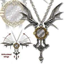 Alchemy Gothic Icarus EX MACHINA Alata Ciondolo Collana Steampunk Cosplay P556