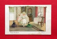 Artista ak de Pauli Ebner 1928 muñecas de bodas la novia (55656