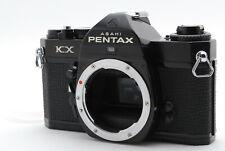 *EXC+++++ Meter Works* PENTAX KX Black 35mm SLR Film Camera Body Only From JAPAN