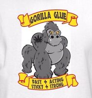 Gorilla Glue Strain T-Shirt - #4 Cannabis Weed Marijuana Leaf 420 Pot Vape Shirt