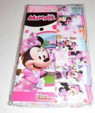 Disney Minnie Mouse Undies Cotton Underwear 7 Panty Girls Toddler 4T Multi-color