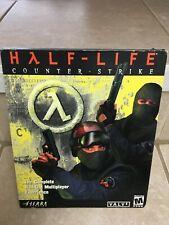 Half-Life: Counter-Strike (PC, 2000) Original Big Box Release - Factory Sealed!