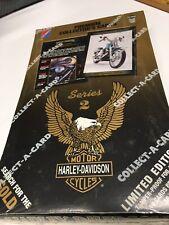 sealed TRADING CARD BOX-HARLEY DAVIDSON SERIES 2 SEALED 36 Packs- Free Shipping