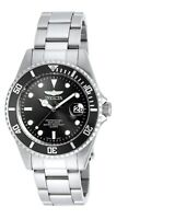 Invicta 8932OB Men's Pro Diver Black Dial SS Bracelet Dive Watch