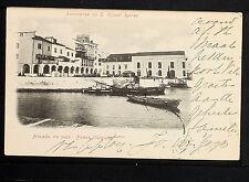 PORTUGAL 174.-PONTA DELGADA -1899 Lembrança de S. Miguel Açores Arcada de caiz.