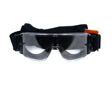 Airsoft Lancer Tactical Safety Goggles - Framless / Clear Lens