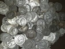 8 Ounces (1/2 lb) - Plus Bonus - Lot 90% Us Silver Coin Halves,Quarters,& Dimes