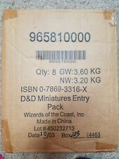 Dungeon and Dragon Miniatures Harbinger Entry Starter (unopened CASE) D&D Minis