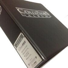 More details for ultra pro collectors trading card ring album/binder/folder for a4 9 pocket pages