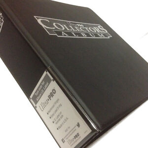 ULTRA PRO COLLECTORS TRADING CARD RING ALBUM/BINDER/FOLDER FOR A4 9 POCKET PAGES