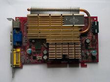 MSI MS-V064 nVidia GeForce 7600GT 256MB AGP VGA Card - Test OK!