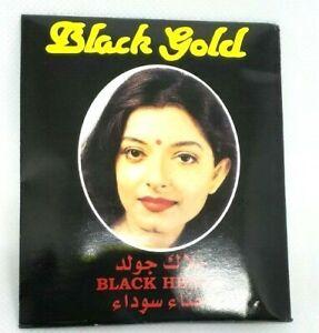 Black Gold Henna Powder Hair Dye (6x10gm)
