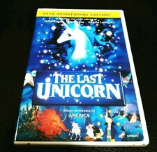 THE LAST UNICORN DVD 25th Anniversary Edition