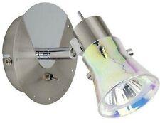 Brilliant G32711/77 Boogie Lampada x parete in vetro dicroico e metallo 1 x 50W