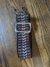 Vintage Camera Strap Red Blue Green Yellow White
