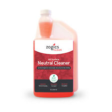Zogics All Surface Neutral Cleaner, 32 oz Bottle Makes up to 16 Gallons