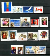 Canada Set of 18 MNH Stamps from 2009 2010 & 2011 Scott's Range 2321 to 2469