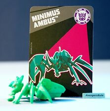 Transformers Tiny Titans Series 6 Robots in Disguise 5/12 Minimus Ambus