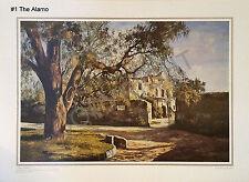 Jose Vives-Atsara San Antonio Mission Prints Set of Five