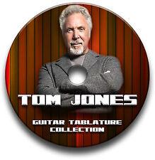 Tom Jones Pop Rock Guitar Tab Tablatura canción libro CD de software