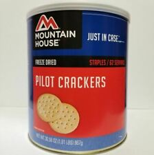 Mountain House Freeze Dried Food Crackers Pilot Bread #10 Can