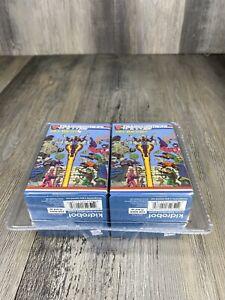 Kidrobot Transformers Vs G.I. Joe Vinyl Mini Series Blind Box 2 pack sealed