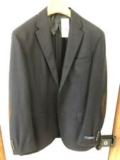 Ralph Lauren Flannel Blazer with Suede Elbow Patches RRP 595