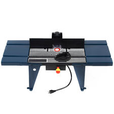 Router tables in chuck size38 ebay electric aluminum router table routing wood working tool benchtop new greentooth Choice Image
