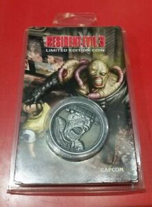Resident Evil 3 Limited Edition Coin - Individually numbered