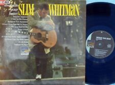 Slim Whitman ORIG OZ LP Unchain your heart EX '68 Sunset MONO Country Folk