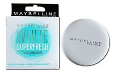 Maybelline New York  Compact  White Super Fresh  8 Gm  with Pure Perlite