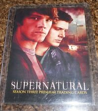 Supernatural Season 3 P1 Promo Trading Card